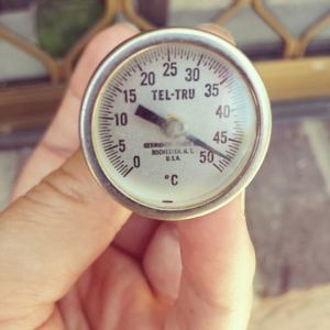 Thermometer in Queensland, Australia Dec 2013