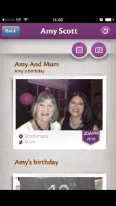Amy & Mum